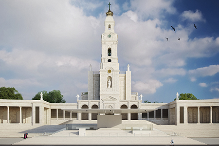 New Presbytery of our Lady of Fatima Sanctuary